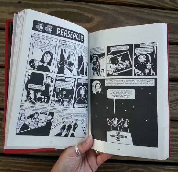 Book Review Persepolis Milliebot Reads